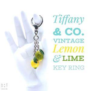 Tiffany & Co. Vintage Lemon & Lime Key Ring